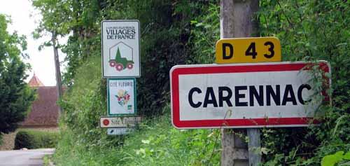 Walking in France: Entering the Plus Beau Village of Carennac