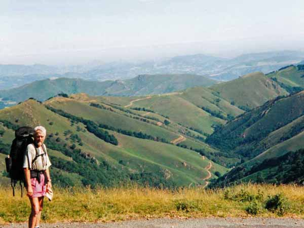 Walking in France: The awful truth - we should be on the road in the valley!