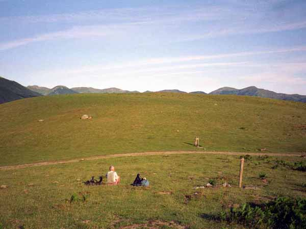 Walking in France: All alone on the plateau d'Ardakhotchia
