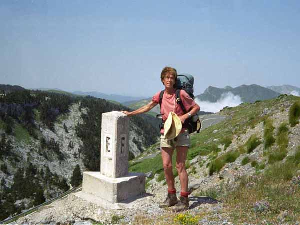 Walking in France: One foot in Spain