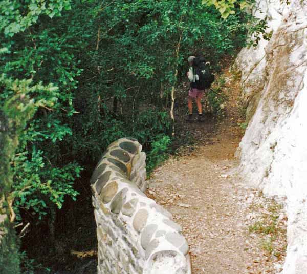 Walking in France: Leaving the Pyrénnées on the Way of Arles