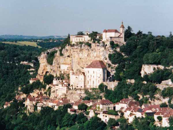 Walking in France: Rocamadour from Hospitalet