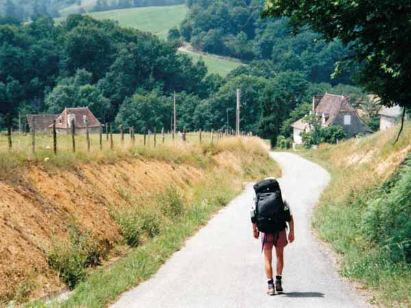 Walking in France: Carrying too much