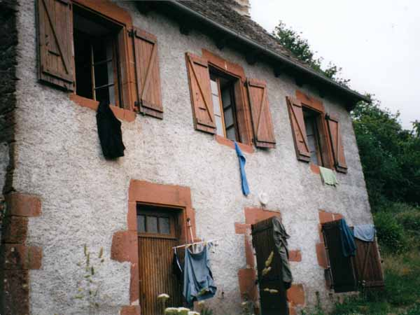 Walking in France: Gîte at Noailhac