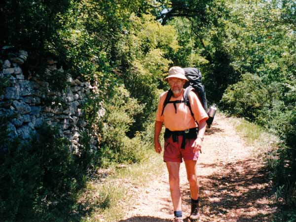 Walking in France: On the causse above the Célé
