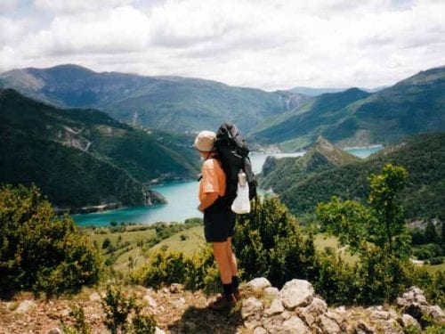 Walking in France: The Lac de Castillon
