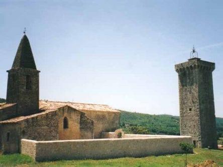 Walking in France: Thirteenth-century Knights Templar tower