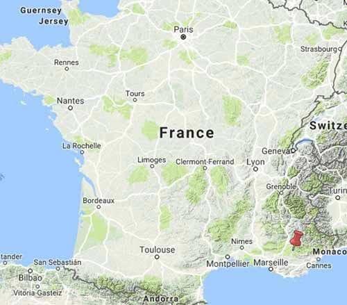 Walking in France: High Provence
