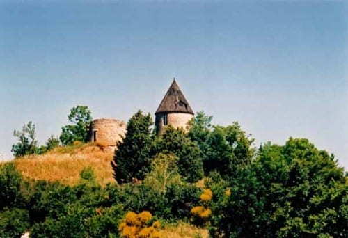 Walking in France: Windmills near Saint-Felix-Lauragais