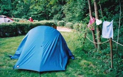 Walking in France: Camping at Nolay