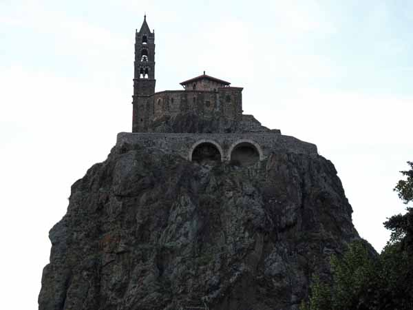 Walking in France: The Chapel of Saint-Michel-d'Aiguilhe, le Puy