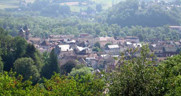 Walking in France: Looking back on Beaulieu-sur-Dordogne