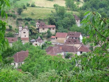 Walking in France: Leaving Gintrac