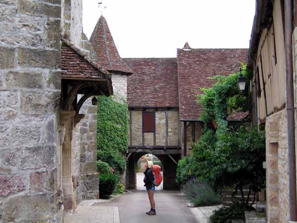 Walking in France: Loubressac in the Lot