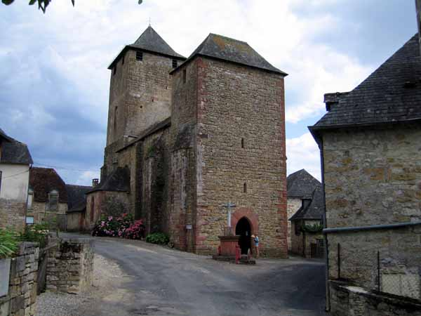 Walking in France: Saillac