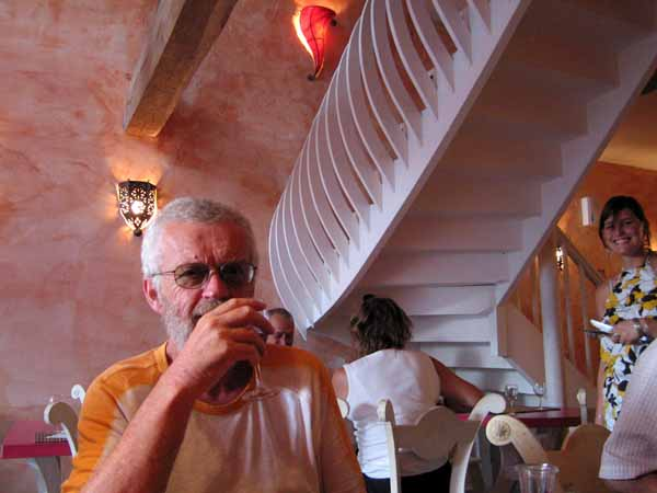 Walking in France: Dining in Laguépie