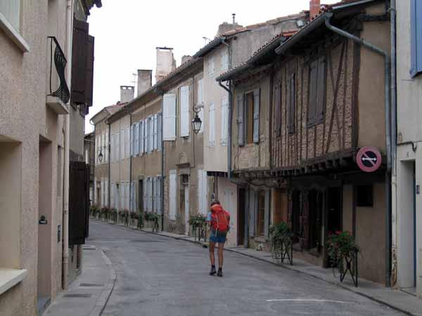 Walking in France: Passing through Sorèze