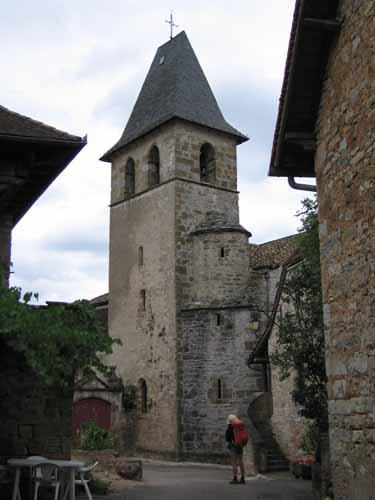 Walking in France: Loubressac