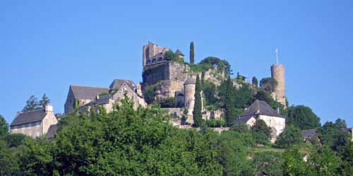 Walking in France: The heights of Turenne