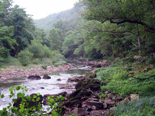 Walking in France: In the gorges of the Aveyron