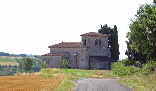 Walking in France: The church of Saint-Jean-le-Froid