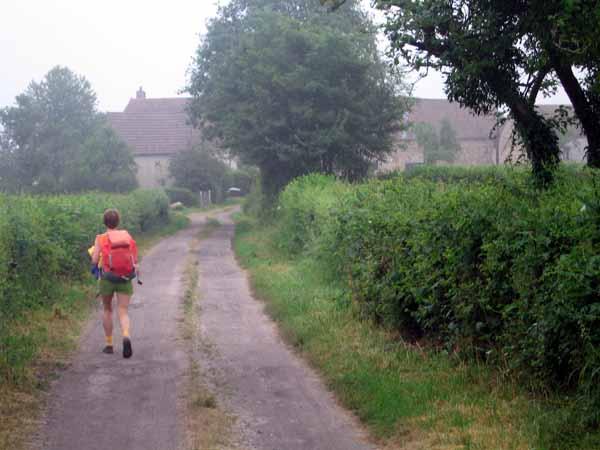 Walking in France: Slightly lost