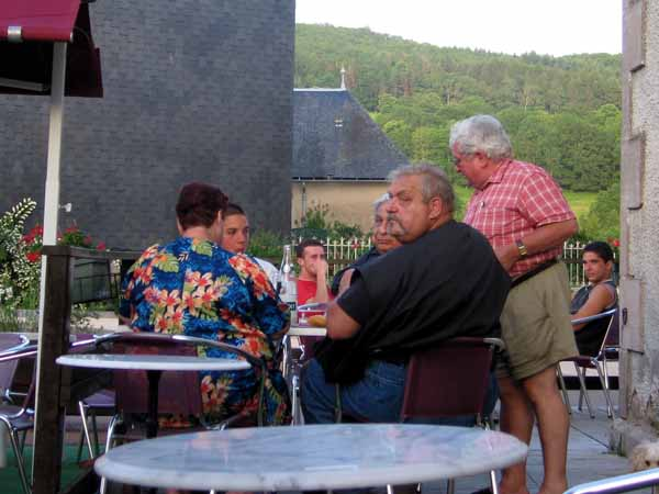 """Walking in France: A photo from the series """"French people do get fat"""""""