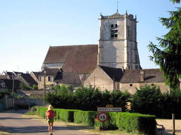 Walking in France: No joy in Merry-sur-Yonne