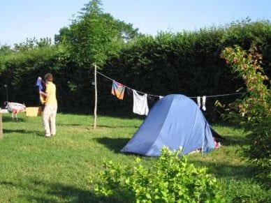 Walking in France: Camping at Cormatin