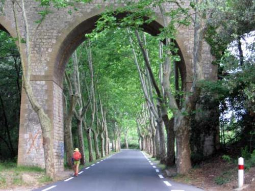 Walking in France: Approaching Arpaillargues