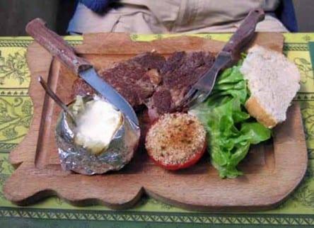 Walking in France: Dinner in Apt