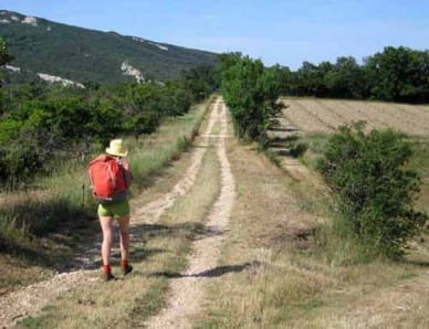 Walking in France: Leaving Buoux