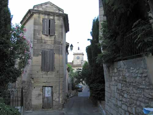 Walking in France: Old quarter of les Angles