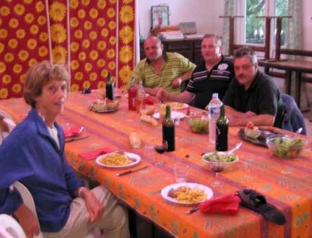 Walking in France: Jenny and the three fossickers