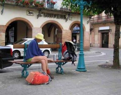Walking in France: Lunch in Nègrepelisse