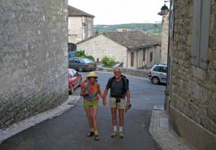 Walking in France: Back on the hoof - leaving Montcuq