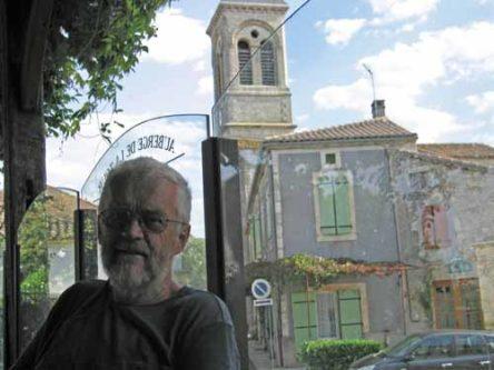 Walking in France: Relaxing in Sauzet