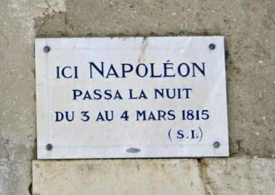 Walking in France: The great man slept here
