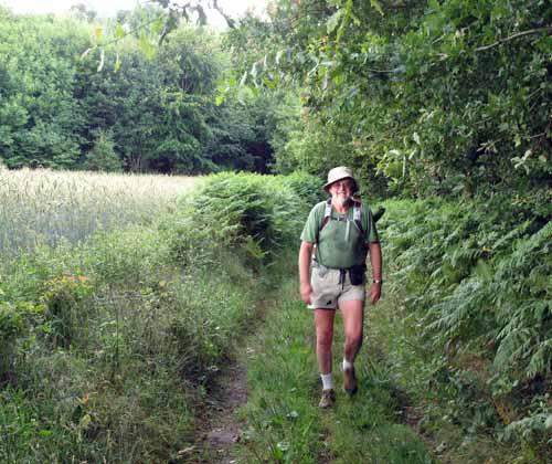 Walking in France: Finally on the GR46