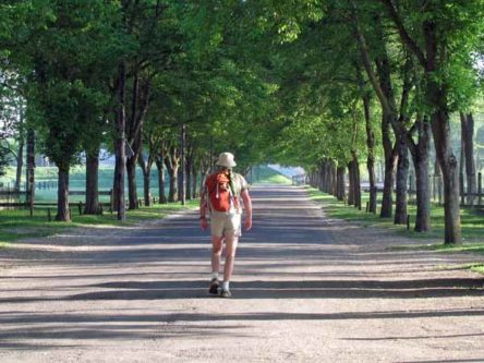 Walking in France: First steps of our grand adventure, leaving the Cosne camping ground