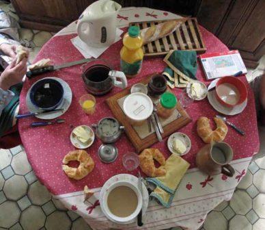 Walking in France: Breakfast with Mme Mativon