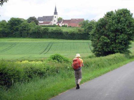 Walking in France: Passing la Cure