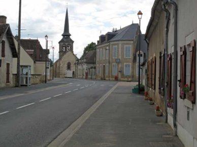 Walking in France: Loye-sur-Arnon