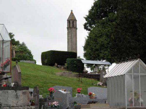 Walking in France: Lantern of the dead, Saint-Agnant-de-Versillat