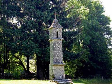 Walking in France: Lantern of the dead, Saint-Goussaud