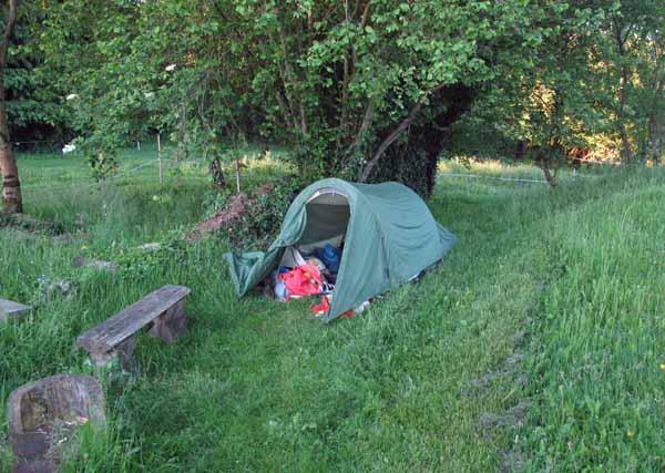 Walking in France: First light in les Billanges