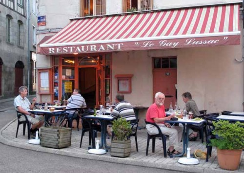 Walking in France: Dining at the Gay-Lussac