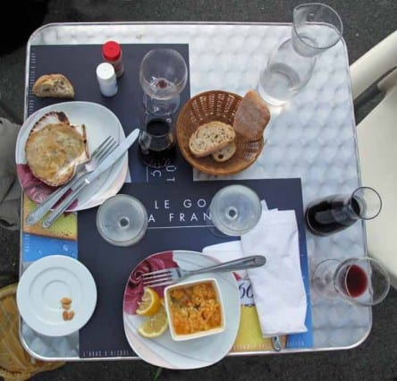 Walking in France: Starters - Coquilles Saint-Jacques