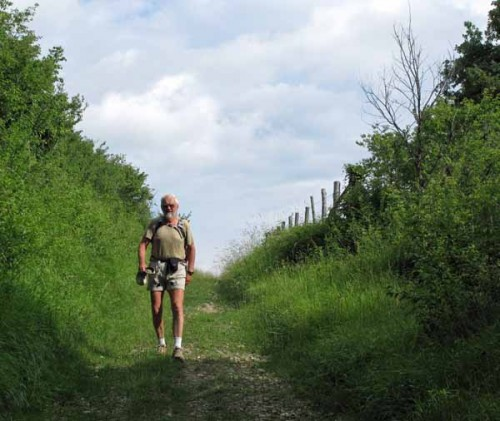Walking in France: The final part of the descent into Grignols