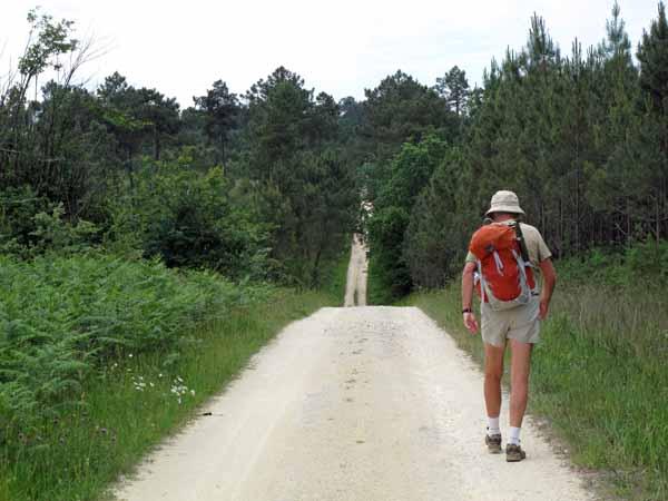 Walking in France: On the Roman road to Villamblard